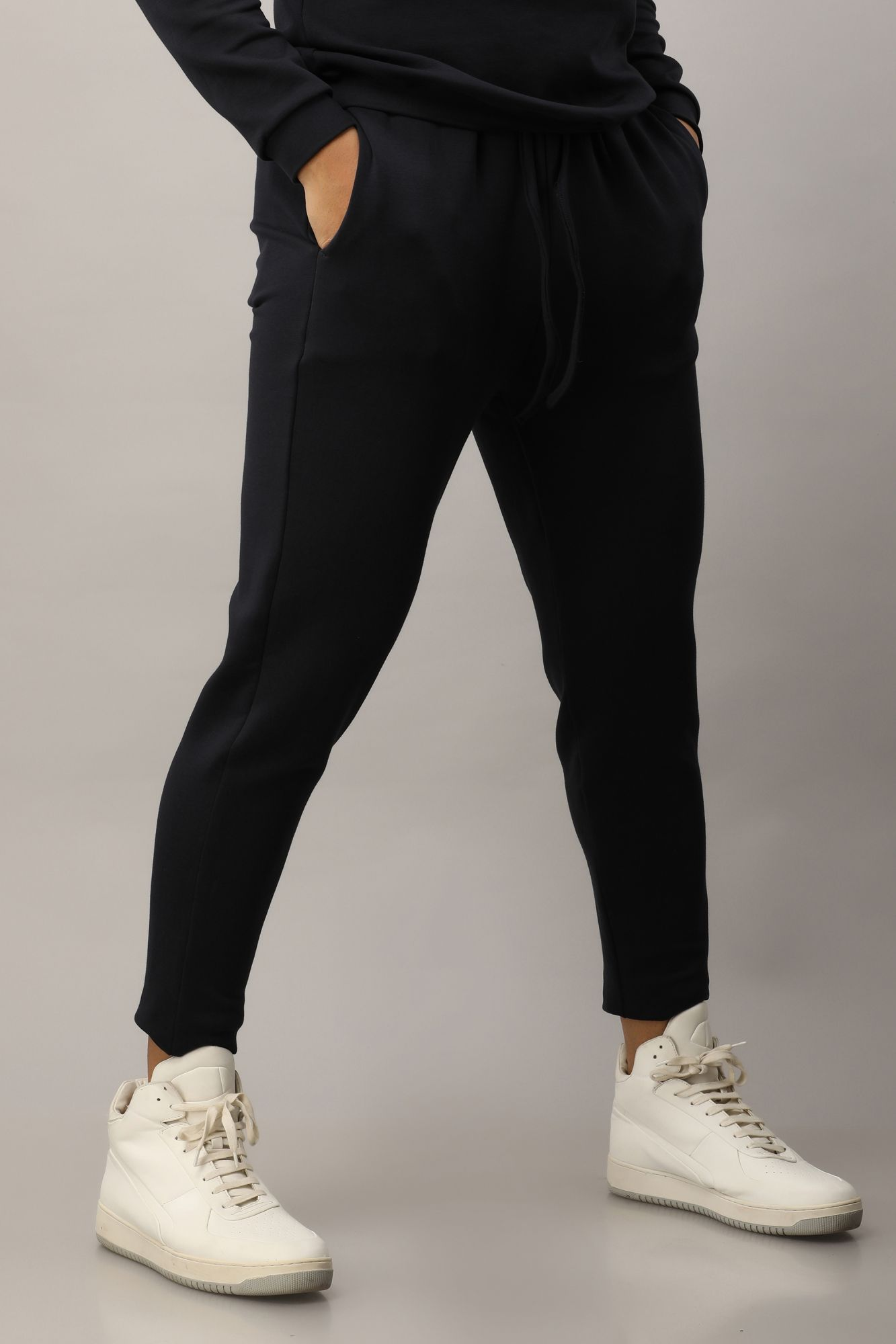 Jogger Pants In Navy Blue