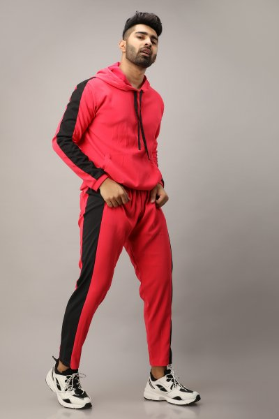 Men's Side Taped Elastic Joggers