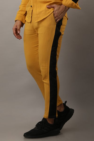 Side Taped Jogger Pants