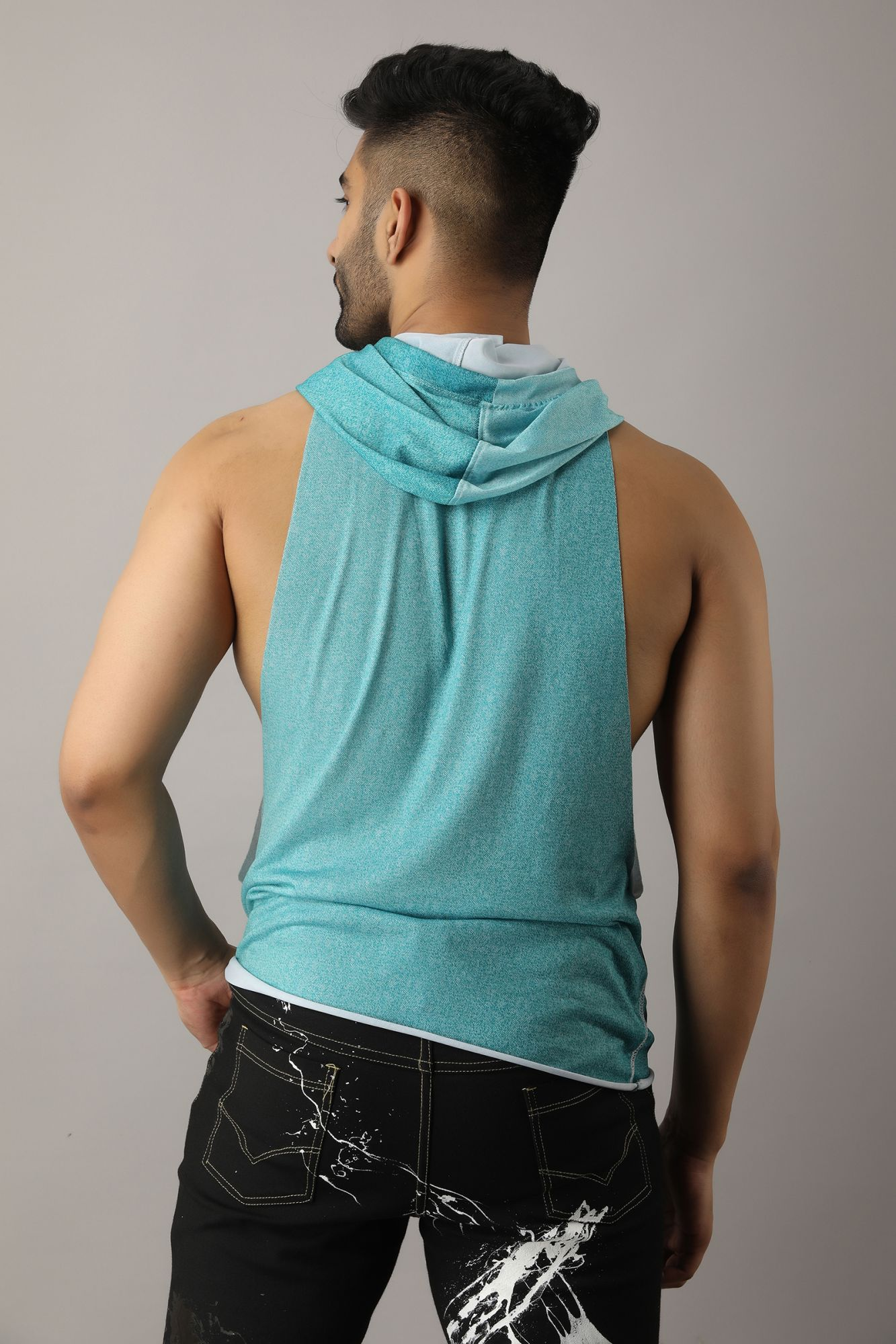 Tank Top In Teal