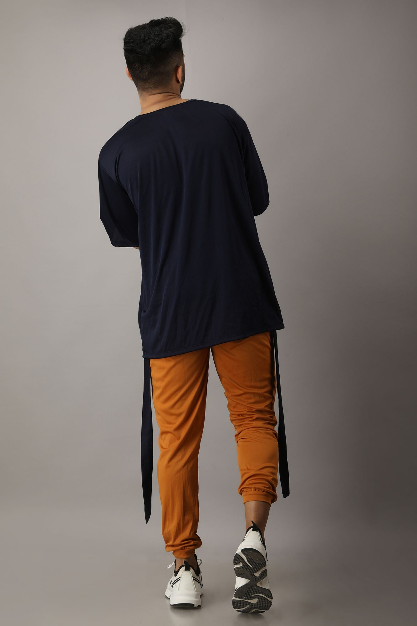 Dark Blue Oversized Tshirt