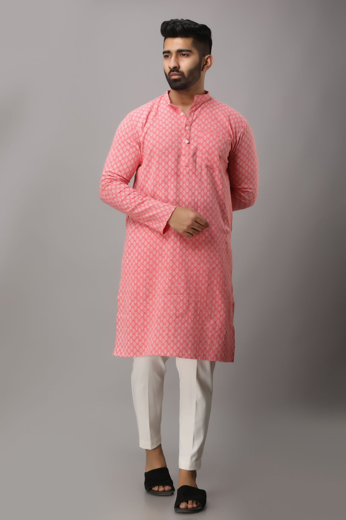 Printed Flowing Kurta