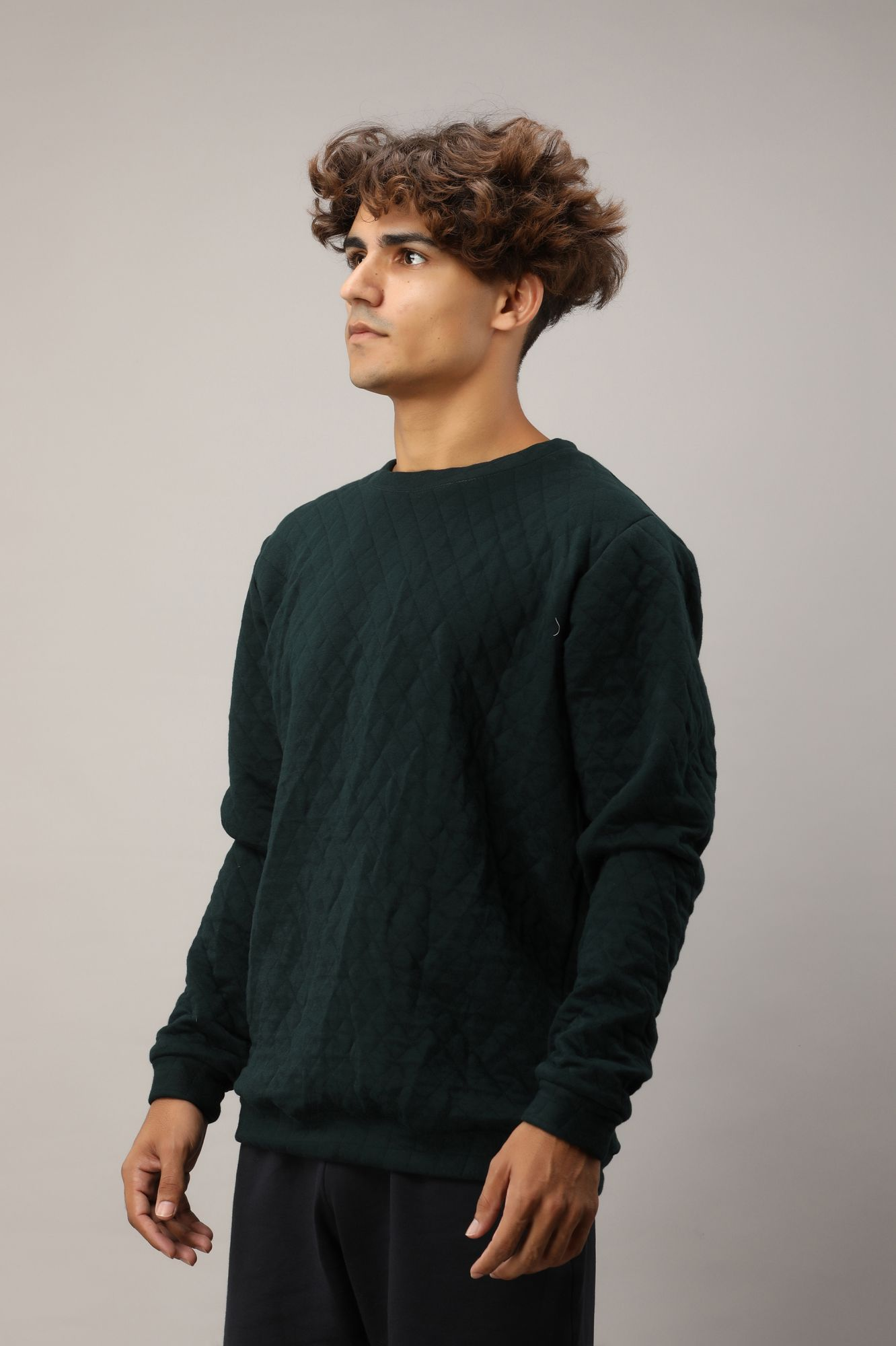 Pullover In Olive Green