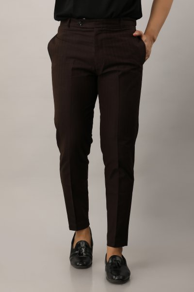 Striped Tailored Fit pants
