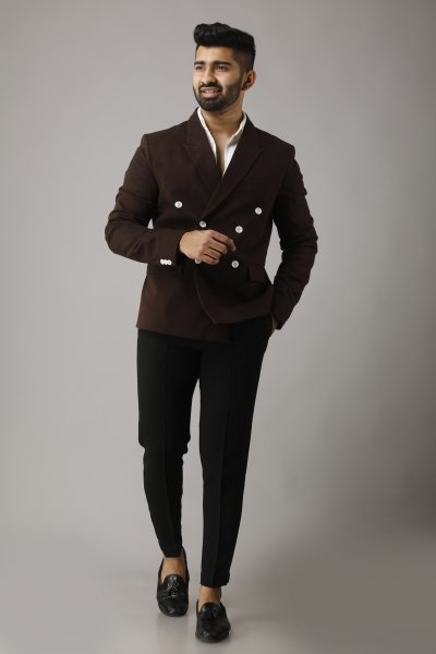 Men's Brown Blazer