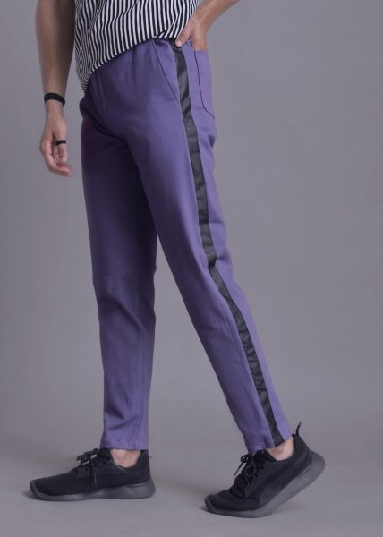 Men's Side Taped Stretch Pants