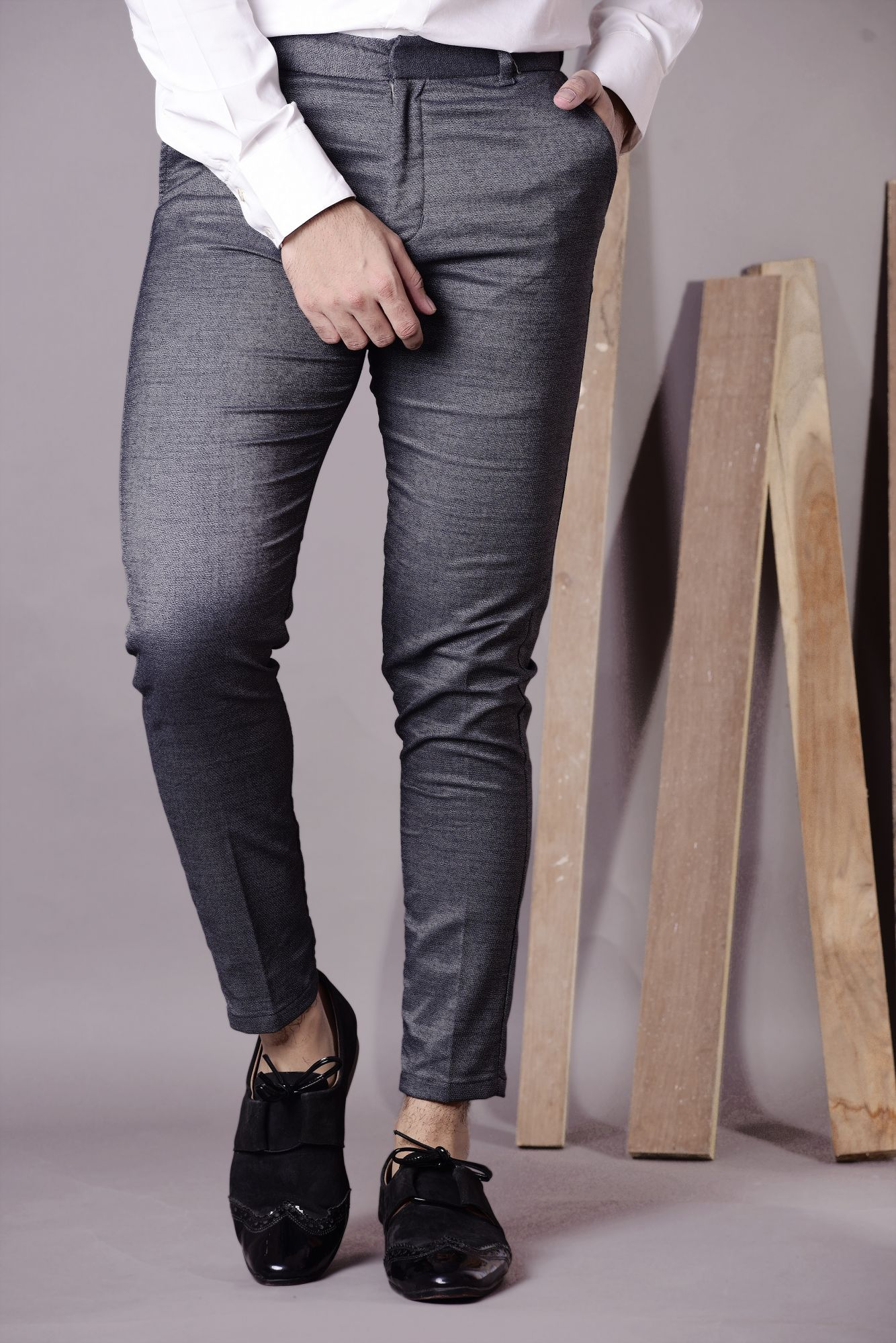Formal stretch pants