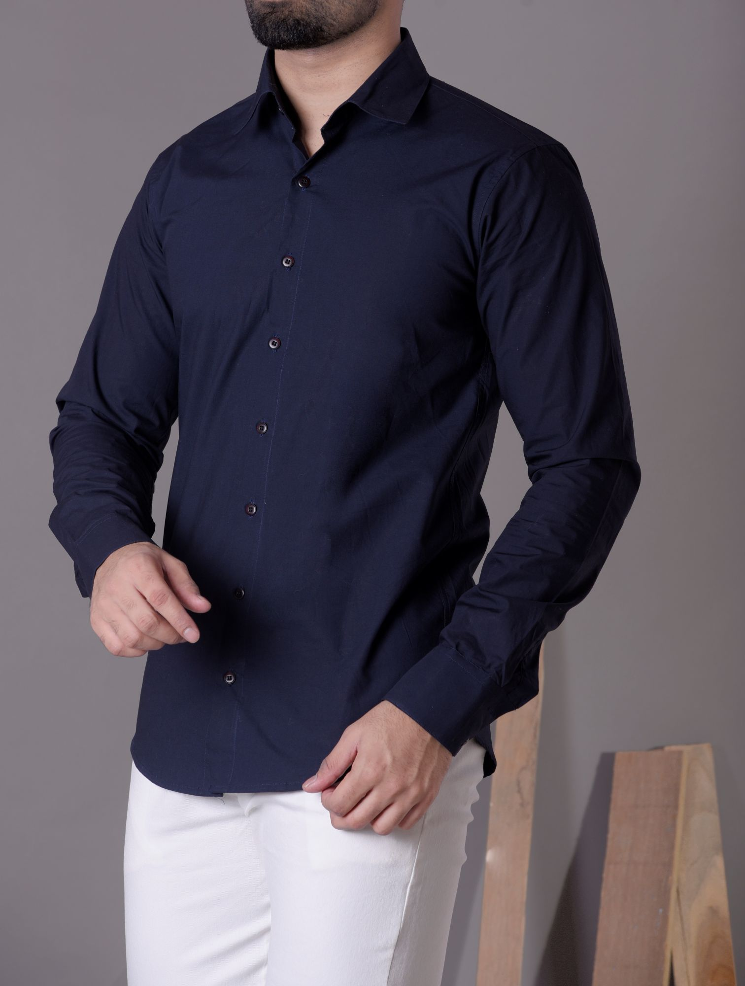 Formal shirt in blue