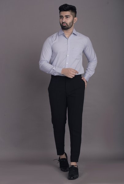 Men's Striped Slim Fit Shirt