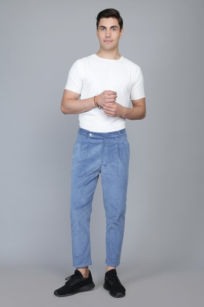 Corduroy Ankle Pants
