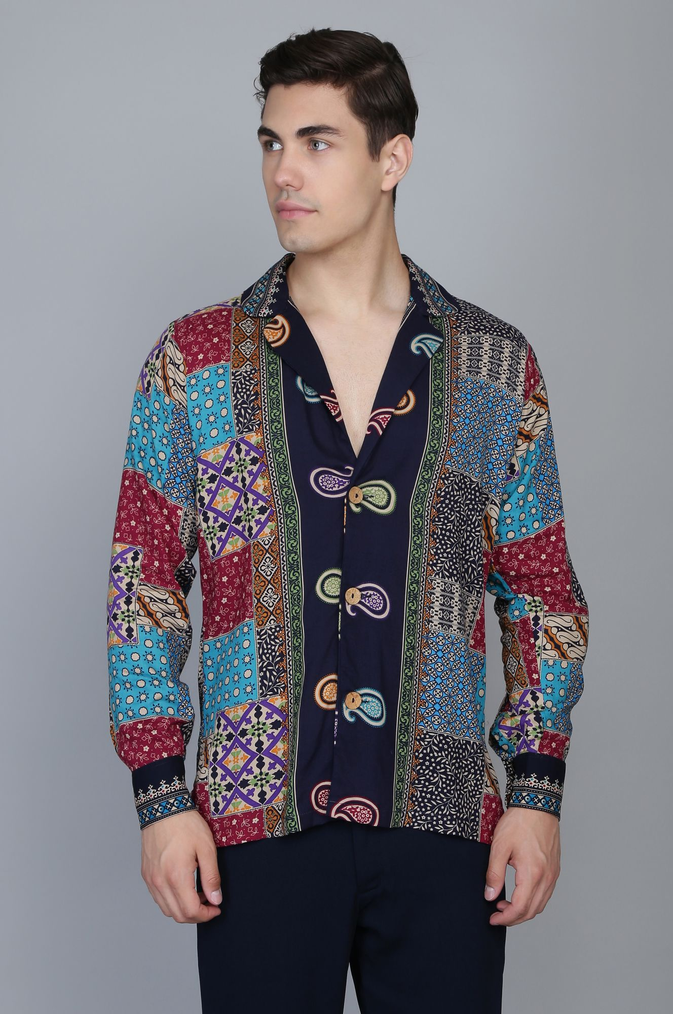 Printed Long Shirt