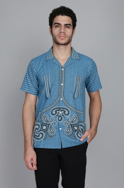 Printed Straight Shirt
