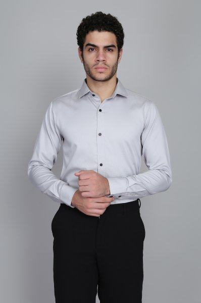 Men's Slim fit Shirt in Grey