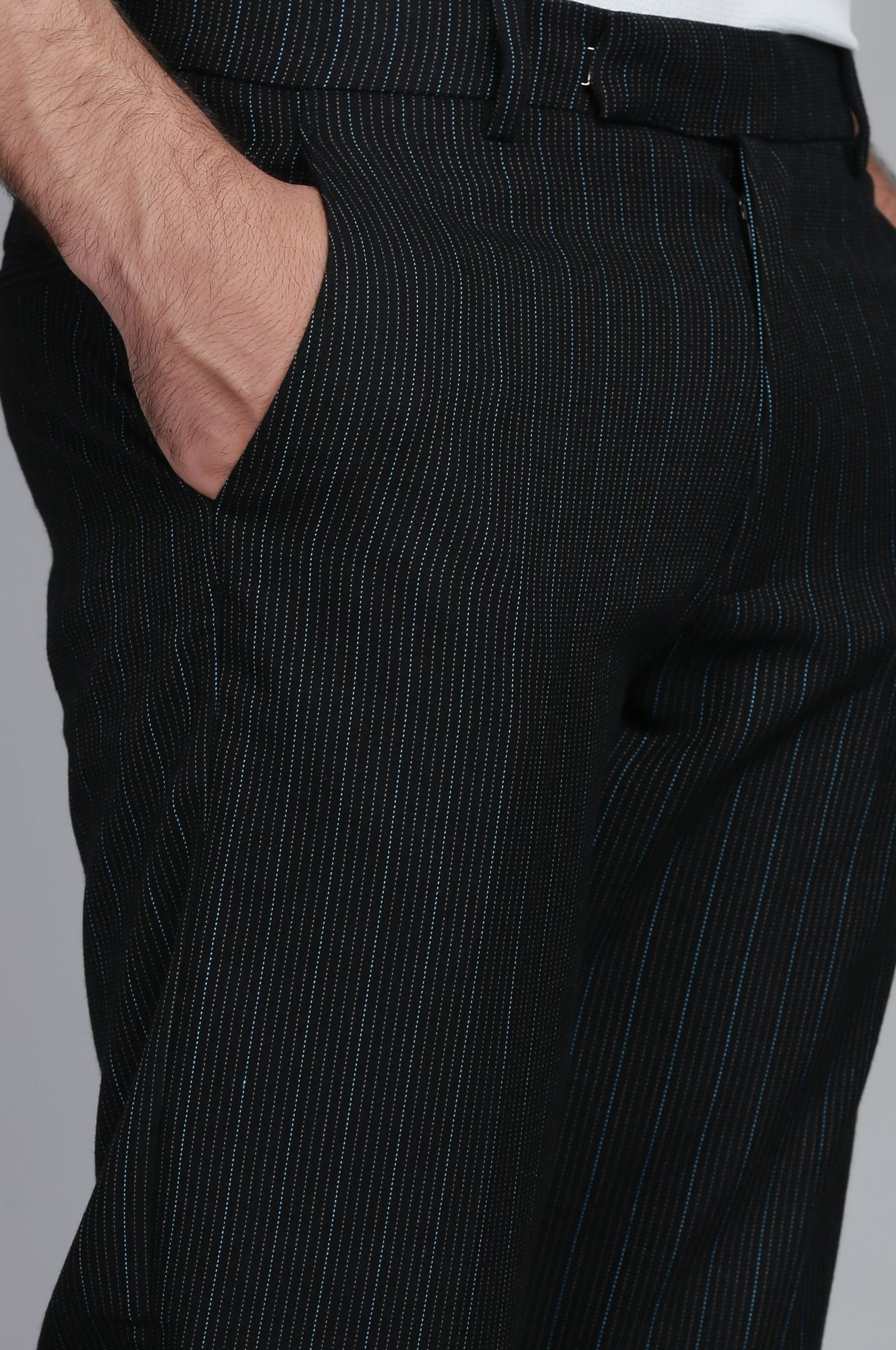 Men's Striped Tailored fit Pants