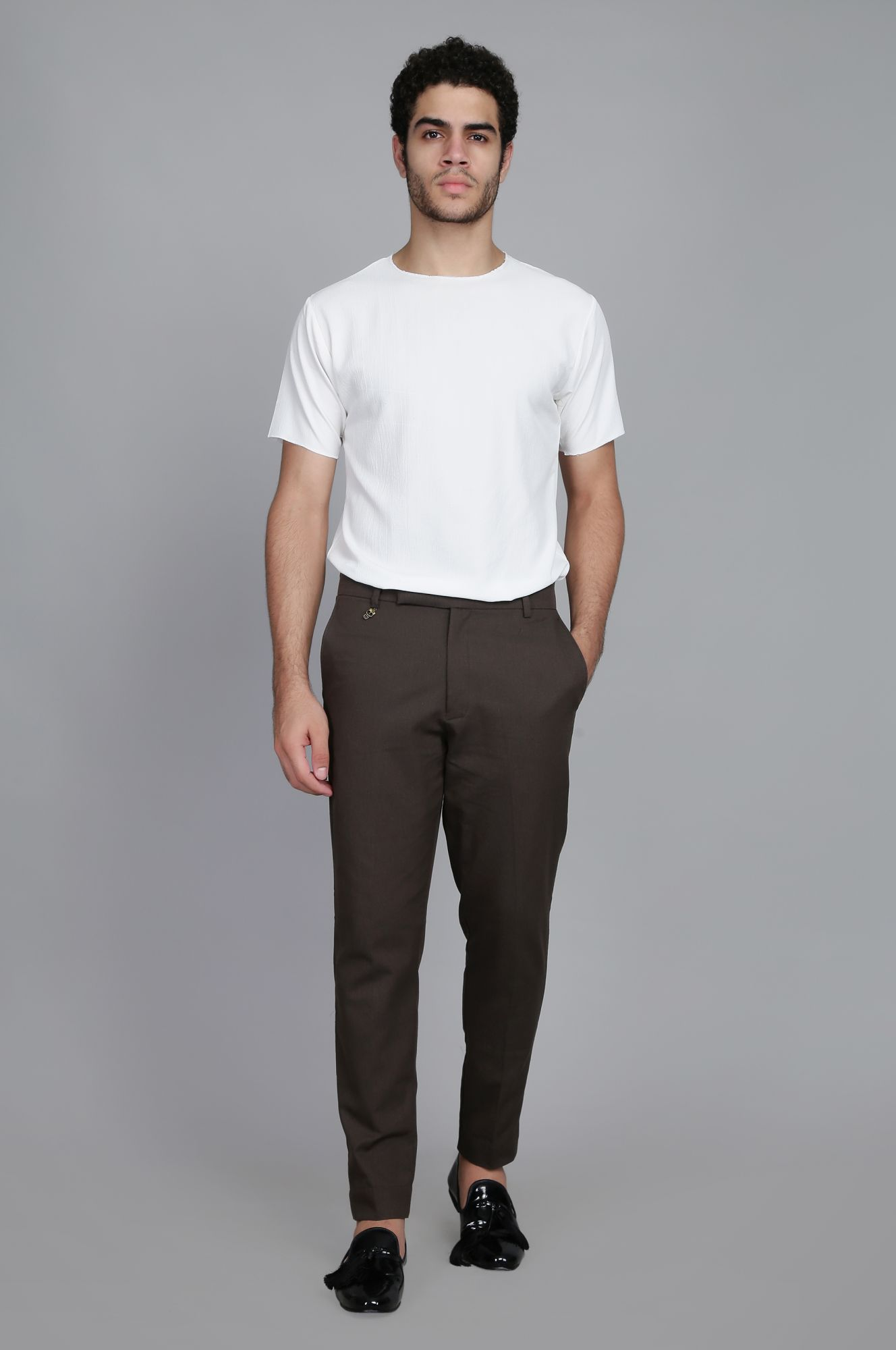 Carob Tailored fit Pants