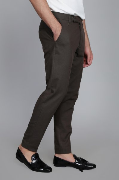 Men's Carob Tailored fit Pants