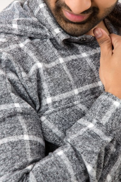 Grey Checks Overshirt