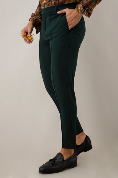 Tapered Olive Green Pants
