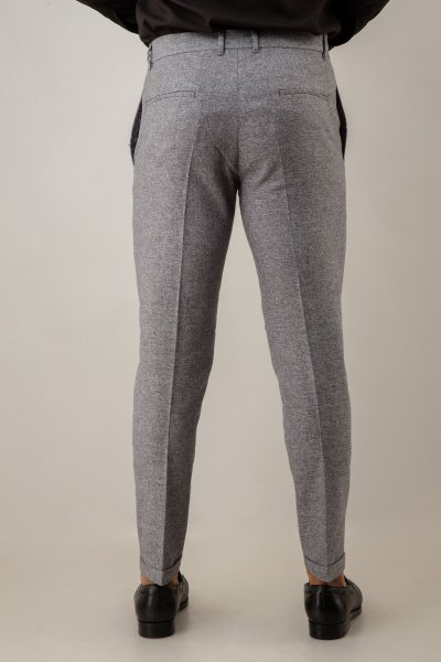 Tailored Fit Pants In Grey