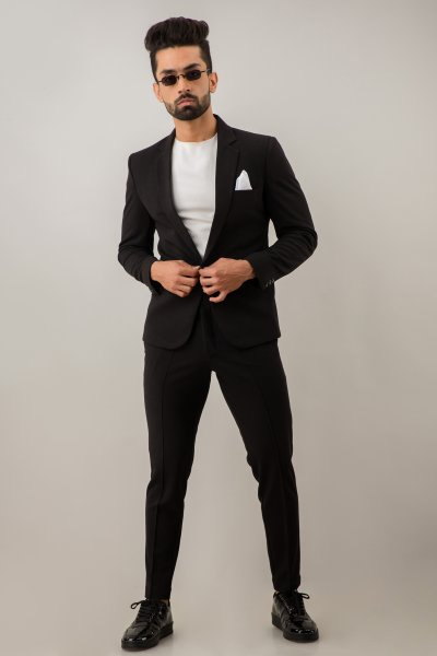 Black Suit Blazer
